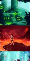 Layers of the Underworld