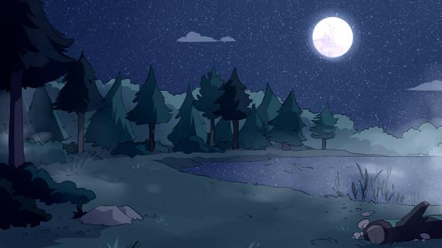 The Lake (Frightwood background)