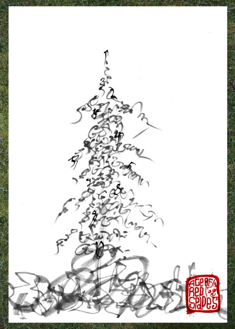 Tree calligraphy by ace fredspades on deviantart