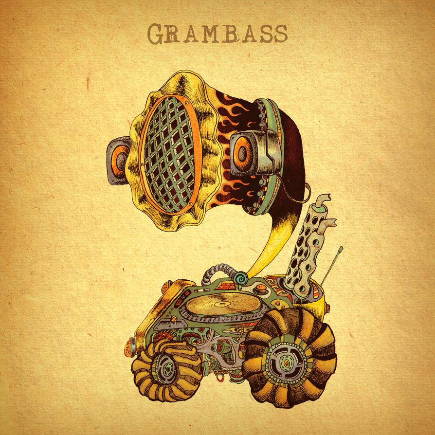 Gram Bass CD cover by Ace0fredspades