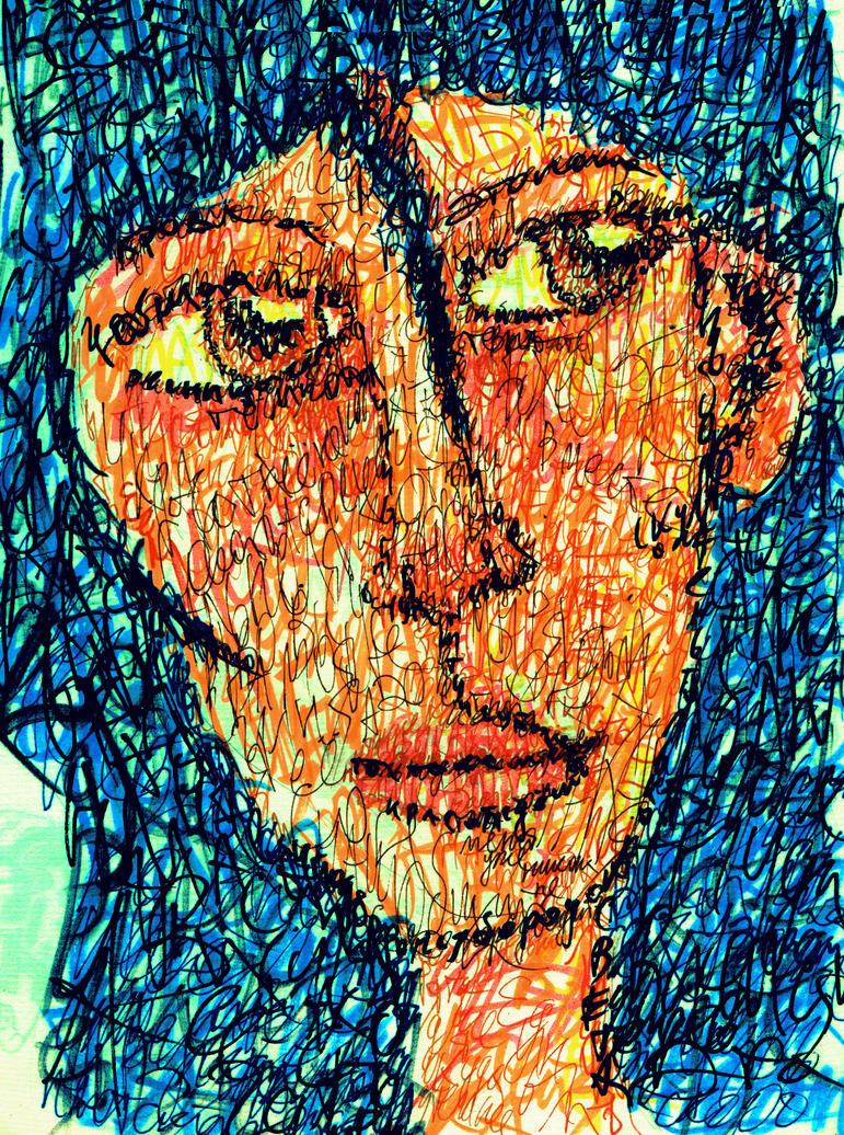 Caligrama Face by Ace0fredspades