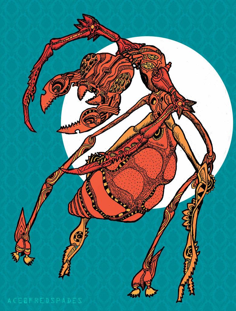 Mechanic ant by Ace0fredspades