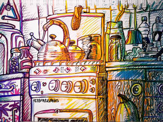 Yodor Kitchen by Ace0fredspades