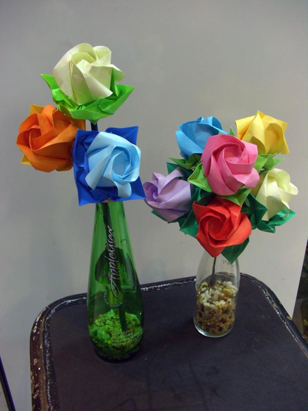 ..origami rose by jst-nacho