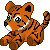 FREE Tiger Plushie Icon by DragonsPixels
