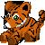 FREE Tiger Plushie Icon by DragonsPixels