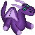 FREE Purple Dragon Plushie Icon by DragonsPixels