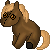 FREE Brown Horse Plushie Icon by DragonsPixels