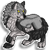 Avarie Pixel Sticker Commission by DragonsPixels