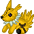 Jolteon Plushie Icon Commission by DragonsPixels