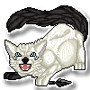 Jen Pixel Sticker Commission by DragonsPixels
