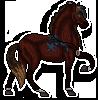SparrowHawk Pixel Sticker Commission by DragonsPixels