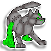 Tox Pixel Sticker Commission by DragonsPixels