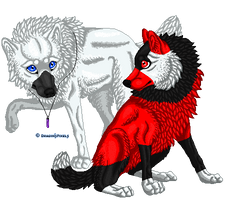 Bobbie Pixel Doll Commission by DragonsPixels