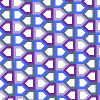 Tessellation Alphabet: D by escapepea