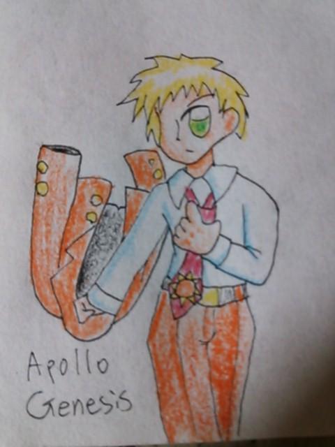 Apollo-san in Zatch Bell! by kurubusirohan