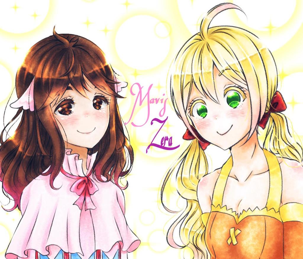 Mavis And Zera By Reicel-chan On DeviantArt