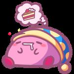 Sleeping Kirby
