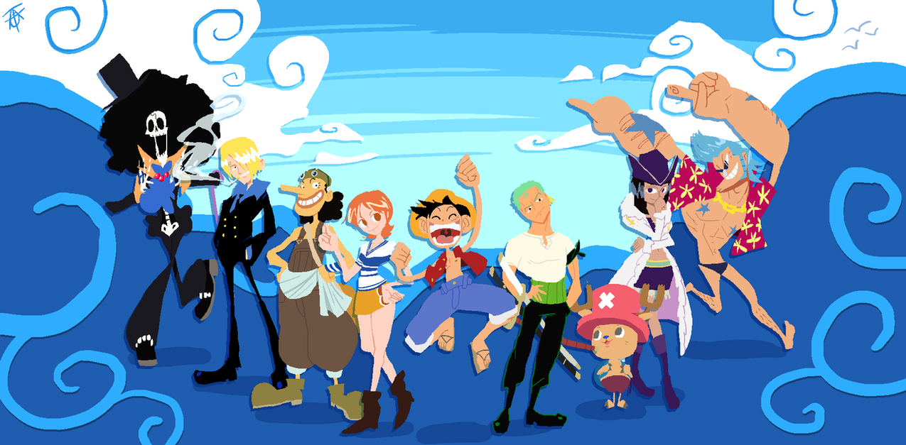 One Piece! by Wingza