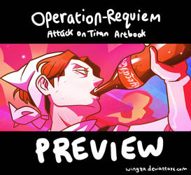 SnK Charity Artbook: Operation-Requiem (preview)