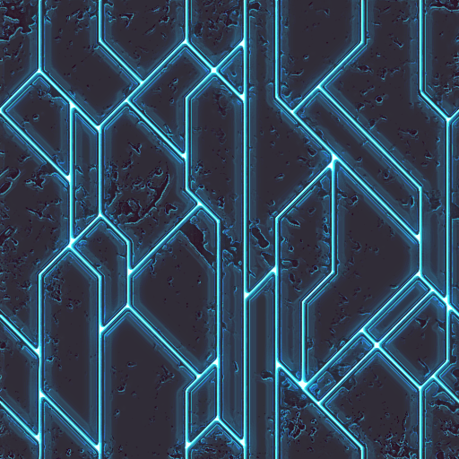Tileable Futuristic Grid by ndugger on DeviantArt