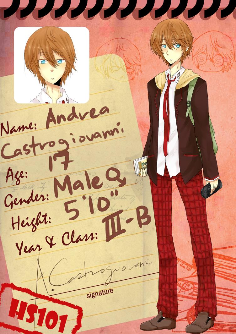 HS101: Andrea by 0tako