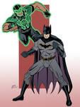 Green Lantern and Batman