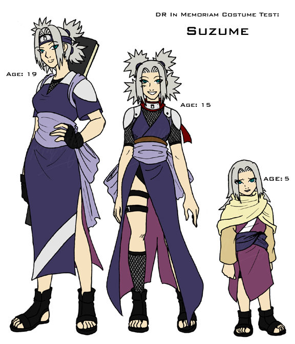 DR Costume Test - Suzume by TwinEnigma