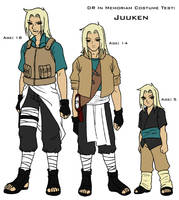 DR Costume Test - Juuken by TwinEnigma