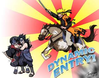 DYNAMIC ENTRY LOL by TwinEnigma