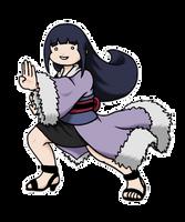 Chibi Lady Hinata by TwinEnigma