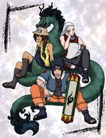 Dragon Spirits by TwinEnigma