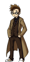 Chibi 10th Doctor