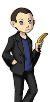 Chibi 9th Doctor