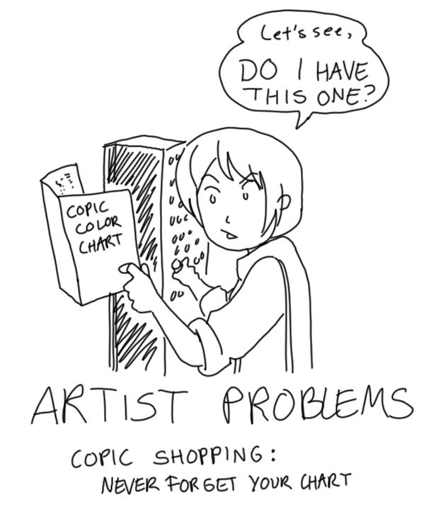 ARTIST PROBLEMS By TwinEnigma On DeviantArt