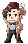 Chibi 11th Doctor v2