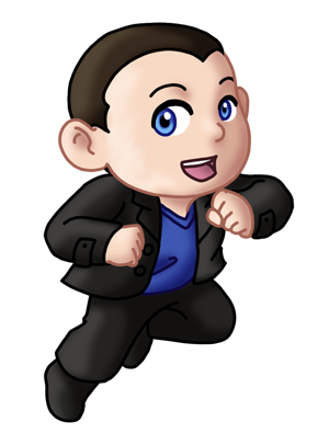 Chibi 9th Doctor v2