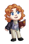 Chibi 8th Doctor v2