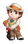 Chibi 7th Doctor v2