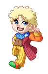 Chibi 6th Doctor v2