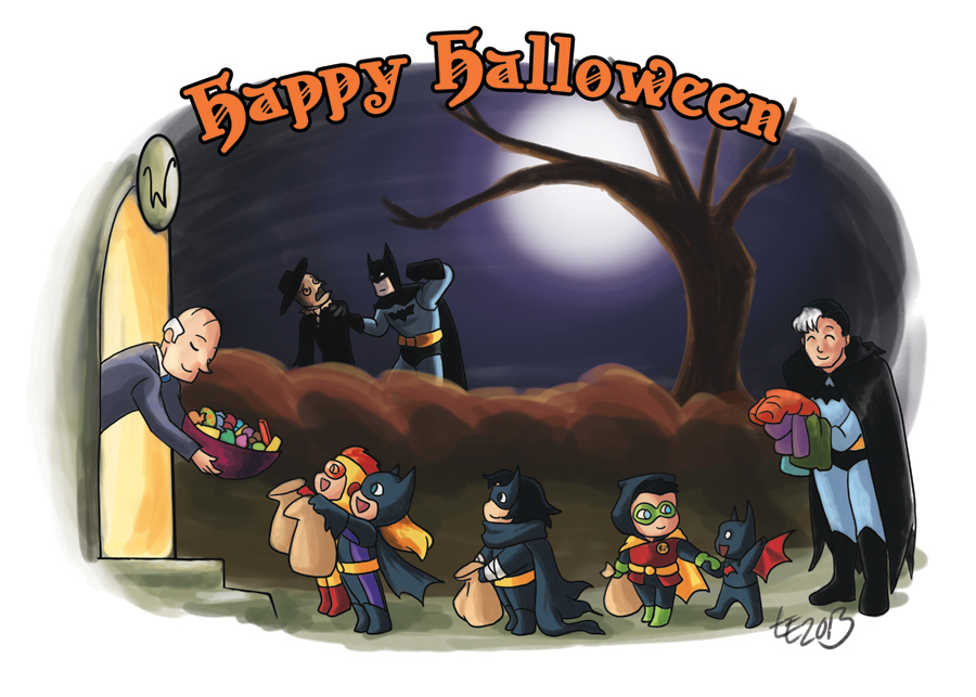 Happy Gotham Halloween by TwinEnigma