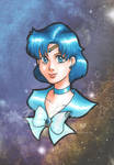 Mercury portrait by TwinEnigma