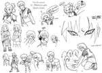 DR In Memoriam Sketch Dump 2