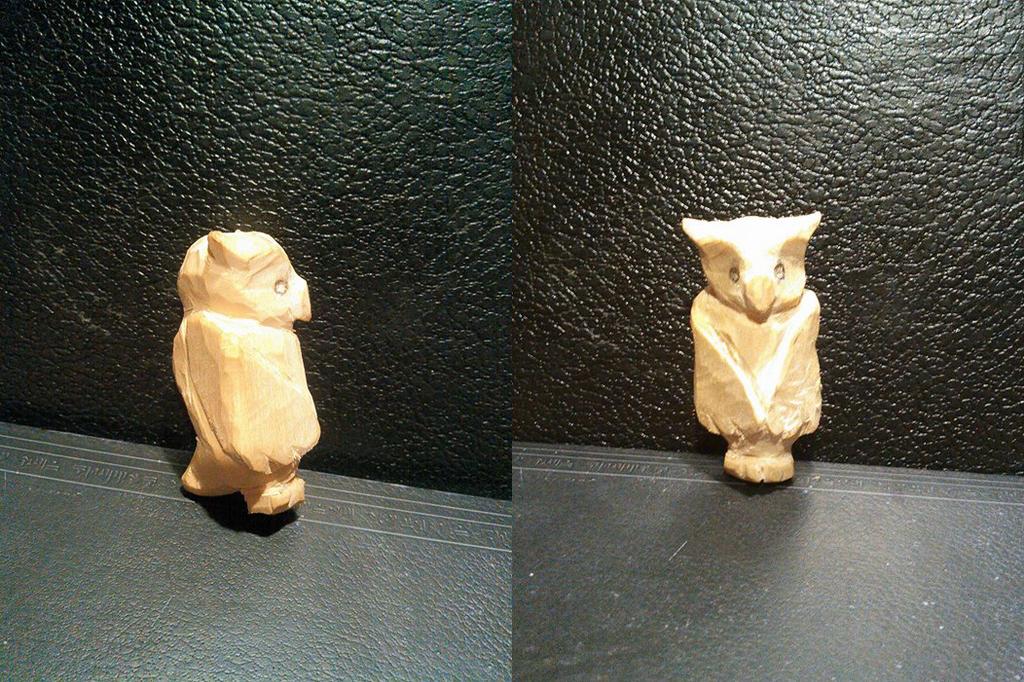Owl Totem by ryoukotakihama
