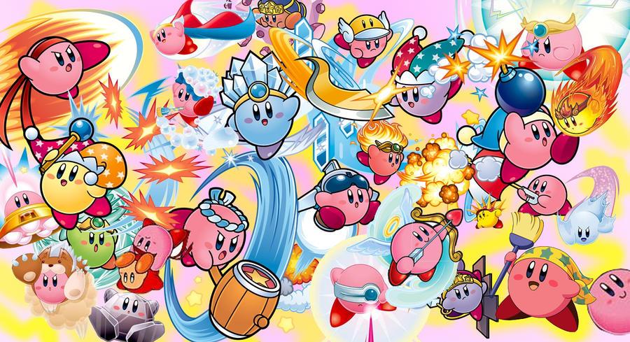 Kirby Wallpaper By Ninjin X