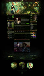 Metin2 Forest Website Template