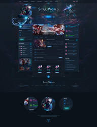 Perfect World Siera Website Template