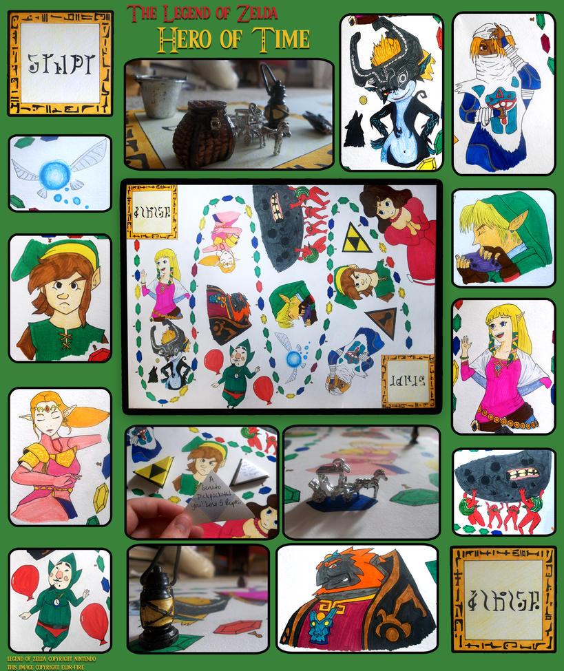Zelda Board Game by Eldr-Fire