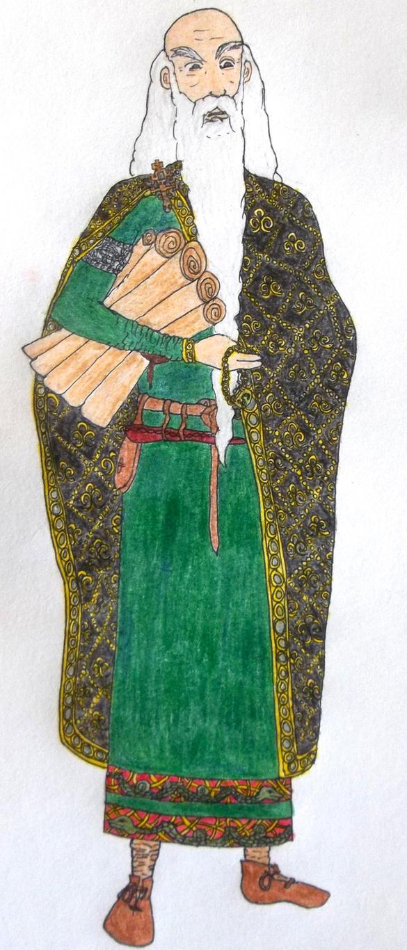 Historical Salazar Slytherin by Eldr-Fire