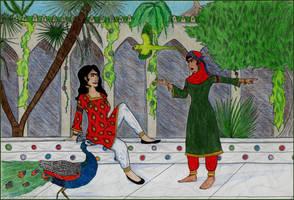 Sitt al-Mulk and Taqarrub by Eldr-Fire